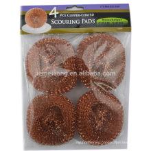 mesh cleaning ball Copper scourer mesh scourer