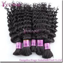 Mode vrac brésilien de cheveux de Remy, vrac de cheveux humains (HT2-HD-BH3A-DW)