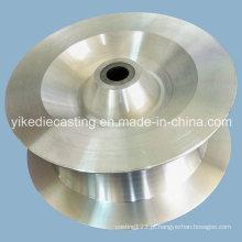 Peça fazendo à máquina personalizada da liga de alumínio para o iate
