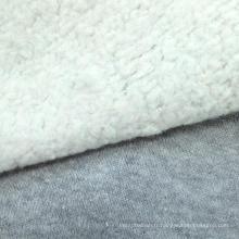 55% Tissu en fibre de coton organique en coton à base de chanvre à 45%