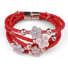 NH00777 Bracelet en cuir de vachette