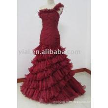 EDQ164 New Arrivals Wine Red Chiffon Prom Dress 2014