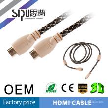 SIPU HDMI-HDMI-Kabel, Gold plattiert 3FT, 5FT, 10FT, 15FT, 20FT, 30FT unterstützen höchsten 4K