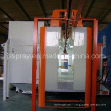 Ligne de revêtement de poudre avec la salle de revêtement de poudre