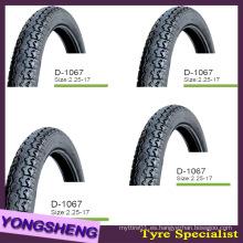 Neumático de motocicleta High Proformance 3.00-17 3.00-18 110 / 90-16 130 / 60-13 120 / 80-17 100 / 90-17