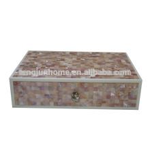 CPN-AB Dekorative Pink Shell Amenity Box für Hotelzubehör