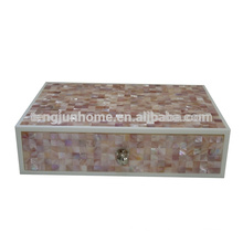 CPN-AB Decorative Pink Shell Amenity Box for Hotel Supplies