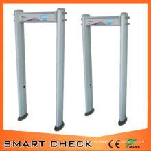 6 Zone Cylindrical Walk Through Metal Detector Walk Through Detector