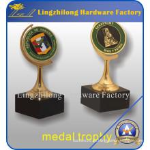 Moneda giratoria personalizada de lujo para souvenirs