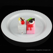 """9""""Plate Plastic Plate Disposable Tray Tableare"""