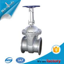 Vanne de vanne DIN à bride à manivelle DIN PN25 PN16 PN10