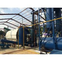 Planta continua de reciclaje de residuos de caucho a aceite para la venta