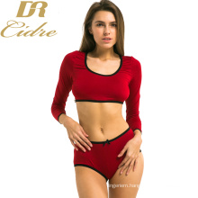 New Fashion Woman Yoga Sport Lingerie longsleeved Sport clothes