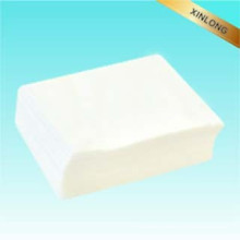Lingettes en tissu de pâte à papier, tissu non tissé à poils roulés