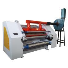 Automatic single face corrugated cardboard box making machine