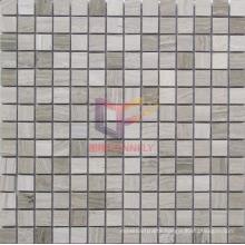 Wood Pattern Marble Mosaic (CFS921)