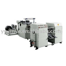 Two Lines Garbage Bag Rolls-Connecting & Dots-Severing Bag Making Machine