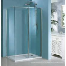 Marcher dans la cabine de douche et salle de douche (HM1382)