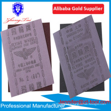flying wheel abrasive cloth for engine parts