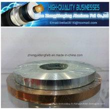 Cable Cu Pet Film Copper Foil Tape pour le Blindage