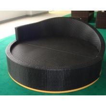 Inflatable Lounge Beach Chair Rattan