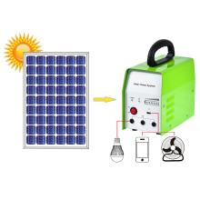 Sistema solar para el hogar con tubo de luz LED