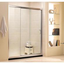 Casa de Banho Porta-Chuveiro de vidro temperado deslizante Clear (G11)
