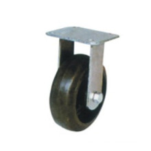 Industrial Black Rubber Fixed Caster (FC601)