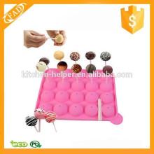 FAD Strict Controle de Qualidade Lovely Silicone Cake Pop Molde