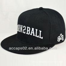 custom flat brim snapback cap and hat