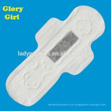 Schnellere Saugfähigkeits-Damenbinde mit super weicher Baumwollgefühl-Oberseitenlage