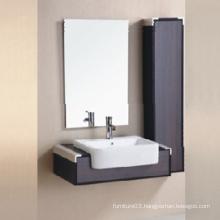 2015 Melamine New Bathroom Cabinet Design with Mirror