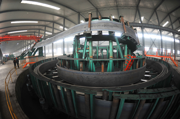 Erw Steel Pipe workshop
