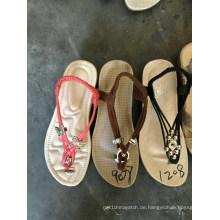Sandale Flip Flops Slipper Frauen Damen Handarbeit TPR Schuhe
