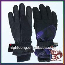 Guante de esquí de dedo de invierno más vendido y de moda
