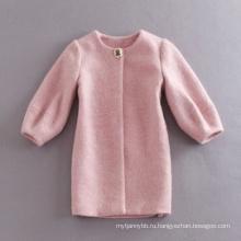 Оптовая Зимнее Пальто Высокое Качество Женщин Розовый Пальто