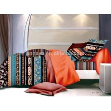 Étnicos conjunto de 4 pcs microfiber edredão conjunto conjunto de cama