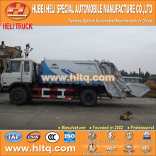 DONGFENG 4x2 10m3 waste rear loader truck 170hp hot sale for export