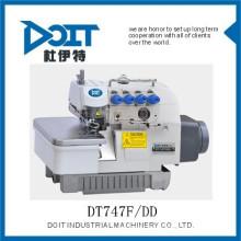 QUATRO ROSCA para trás travando o preço DT747F / DD da máquina de costura de Overlock para venda