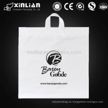 Bolsa de plástico personalizada con logo print