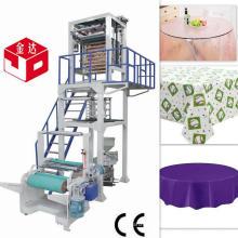 Machine de fabrication de film en plastique jetable