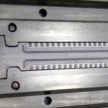 Herramientas de caucho de silicona de precisión por encargo