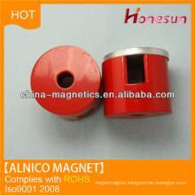 Cast alnico cylinder magnet D20x8 for permanent magnet alternators