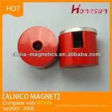 Литая постоянного магнита генераторов алнико магнит цилиндра D20x8