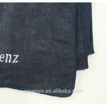 Serviettes de sport brodées de haute qualité en tissu Mpcrofiber