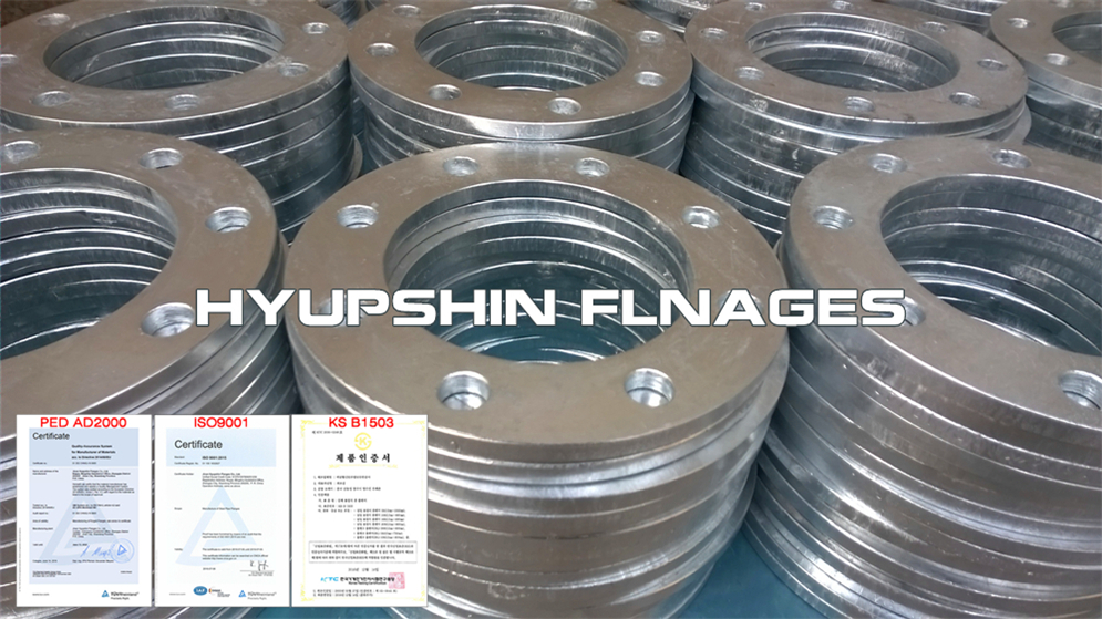 Hyupshin Flanges Hot Zinc Galvanizing Flange Covered