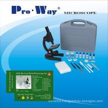 200X Die-Cast Metal Microscope Set (Gift Microscope XSP-PW200G )