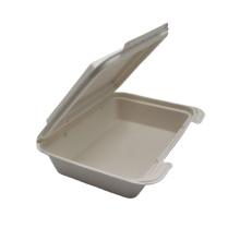 New Sugarcane Bagasse Tableware Fast Food Box Container Biodegradable