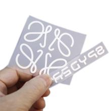 High Density Custom 3D Raised Logo T-shirt Heat Transfer Sticker