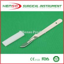 Escalpelo descartable médico de HENSO